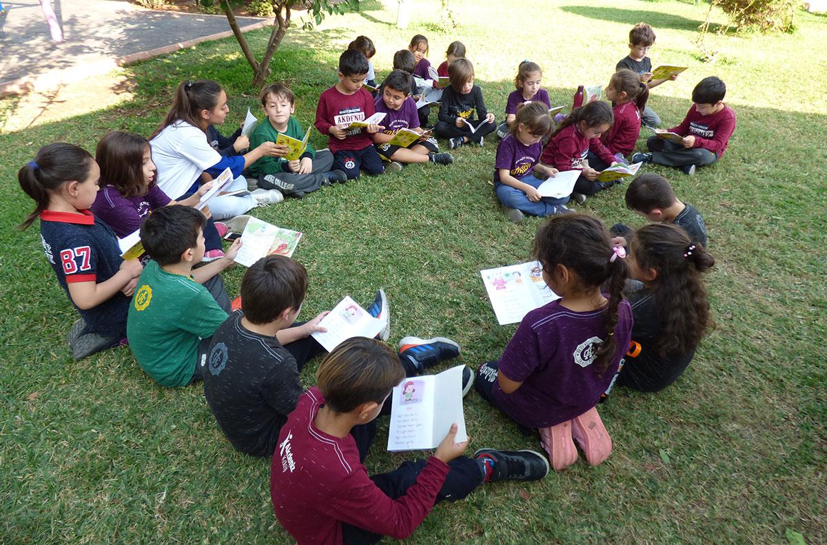 1-A Sınıfı Okuma Etkinliği