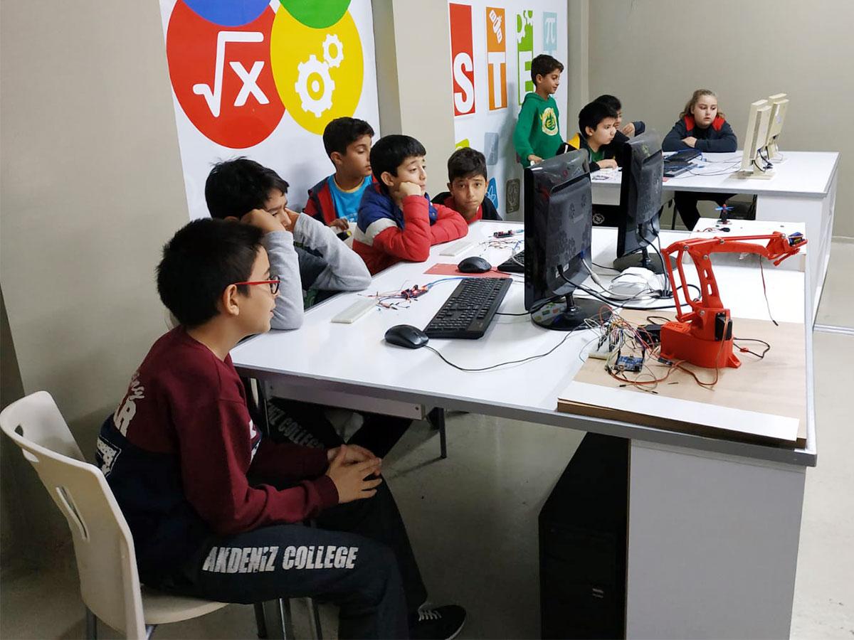 Arduino ve Stem Laboratuvar Çalışmaları