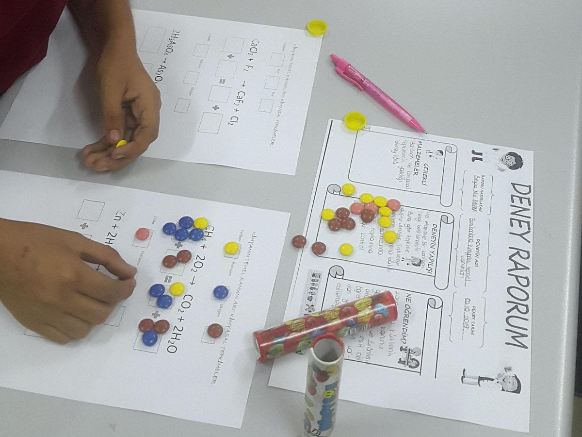 Fen Bilimleri Lise Deney Etkinlikleri – 2. Grup