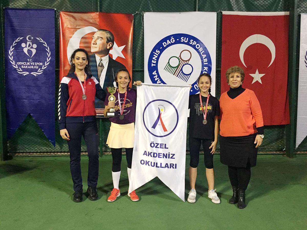 Küçük Kızlar Tenis Adana 2.'liği